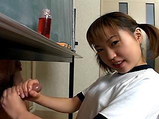 Yui Minami Handjob